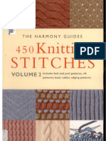 Harmony Guides - Volume 2 - 450 Knitting Stitches