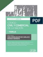 Suplemento Especial - Código Civil y Comercial de La Nación Familia