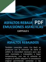 Asfaltos Rebajados Emulsiones Asfalticas