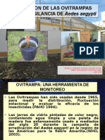 Utilizacion de Las Ovitrampas Para La Vigilancia de Aedes Aegypti