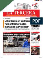 Diario La Tercera 17.05.2016