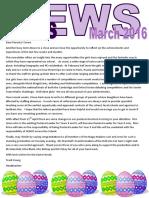 Newsletter March 2016