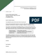 2D Cover Letter