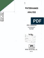 Water Hammer Analysis - J. Parmakian