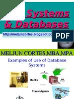 MELJUN CORTES - Database System/DBMS