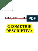 2-Geometrie Descriptiva_Partea a II-A