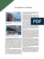 Crisis Migratoria en Europa