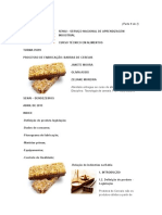 Legislação Da Barra de Cereal