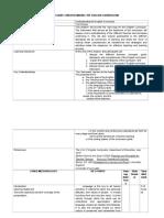 SLE English Curriculum Framework and Walk Through 2