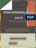 2. bASES PSICOPATOLOGICAS DE LA PSICOMOTRICIDAD