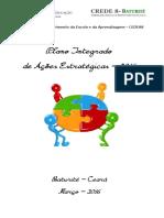 Plano Integrado Ações Estratégicas CEDEA8 2016 Finalizado 2