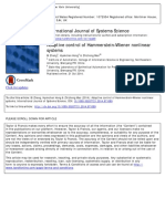 Adaptative Control of Hammerstein-Wiener Nonlinear Systems - Zhang