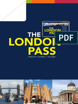 London Guidebook En Es It London Transport
