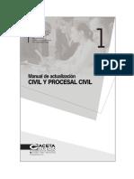 TEORIA .Manu-Actualiza-civil y ProCivil - Gaceta Jurica