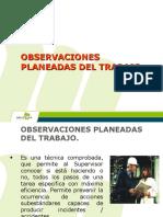 2. Observaciones Planeadas