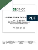 003 Identificación de Peligros y Evaluación de Riesgos