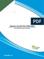 Manual de Gestión Tributaria, guía didáctica para docentes Vol. 1 y 2.pdf