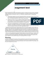 Project Management Best Practices II
