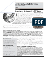 Stewards of the Coast and Redwoods Newsletter, Spring 2009