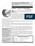 Stewards of the Coast and Redwoods Newsletter, Fall 2008