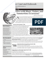 Stewards of the Coast and Redwoods Newsletter, Summer 2006