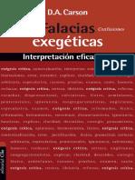 Donald Carson - Falacias Exegeticas.pdf