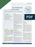 Werkmedia Voor Indirecte Koeling