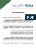 BORTONI-RICARDO Diretrizes Para Mediao de Leitura