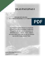 Epistolas Paulinas I