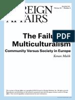 FA - The Failure of Multiculturalism