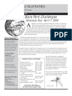 Stewards of the Coast and Redwoods Newsletter, Spring 2003
