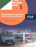 01. Mantenimiento Mecánico Preventivo Del Vehículo (052)