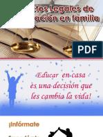 Taller Aspectos Legales de La Educación en casa, Homeschooling/Unschooling en Argentina