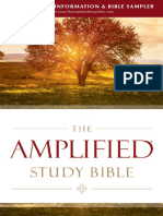 Amplified Study Bible Sampler