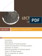 Lecture 1 - Cement (2013)