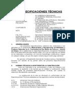 Especificaciones Tecnicas Pallcca 2008