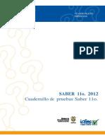 Cuadernillo de Pruebas Saber Sociales