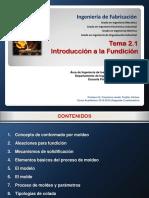 Tema 2.1. Introduccion a La Fundicion (Color)