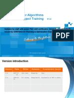 GSM P&O Training Material for Special Subject-Handover Algorithms - ZTE