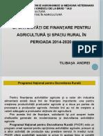 Oportunitati de Finantare-agricultura