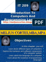 MELJUN CORTES - Intro. to Computers Programming Language