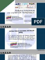 Presentacion Sistema Publico Nacional de Salud 2