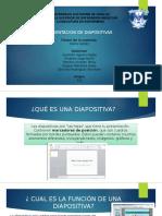 Representacion de Diapositivas