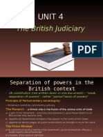Unit 4 - The British Judiciary[1]