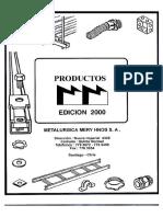 Catálogo Metalúrgica Mery