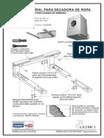 instructivo secadora