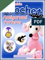 Eight Adorable Crochet Amigurumi Patterns