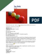 Pastilina casera (Play-Doh)