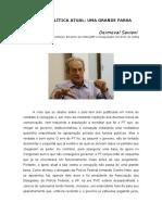A Crise Política Atual Por Dermeval Saviani