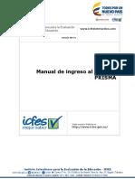 Manual de Ingreso Al Sistema Prisma 2016 v2